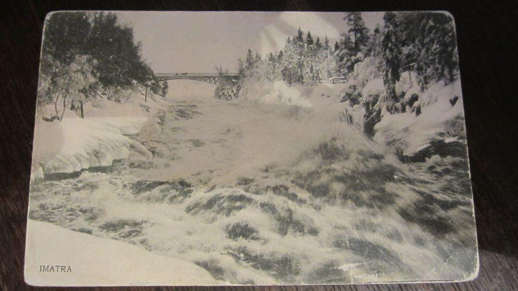 Старые открытки финляндия