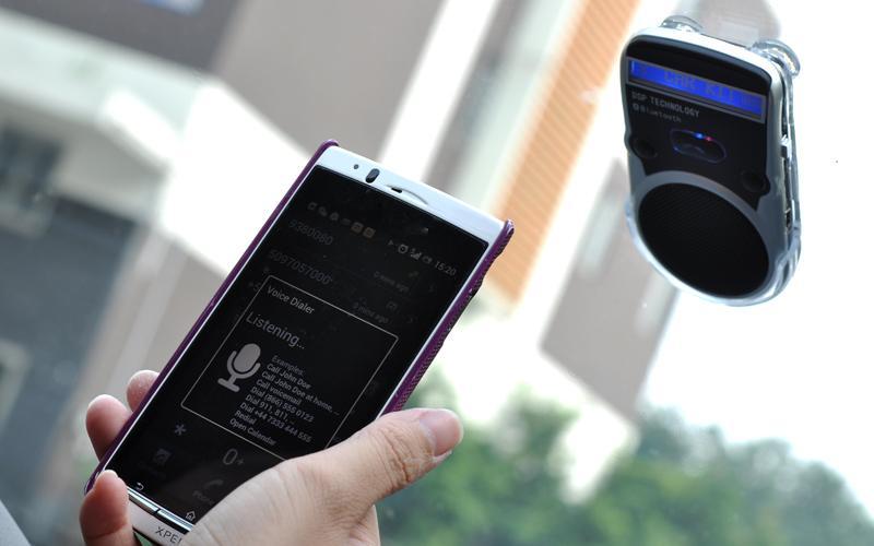 Hands free для машины автомобильная громкая связь Bluetooth c питанием от СОЛНЦА или аккумулятора