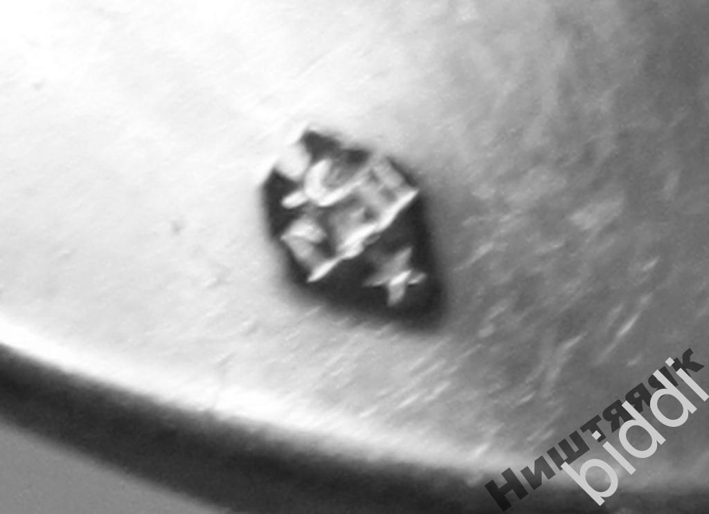 Столовая ложка. Франция. Серебро 950 пр.