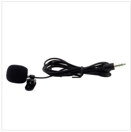 Нагрудный микрофон с клипсой