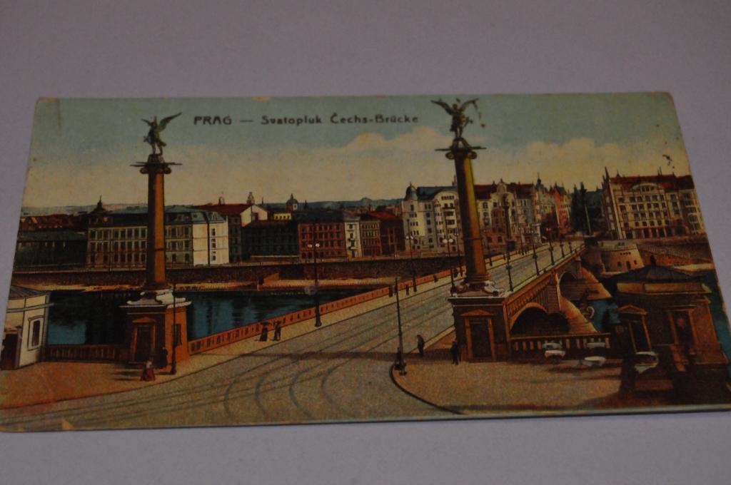 Как отправить открытку из праги 303