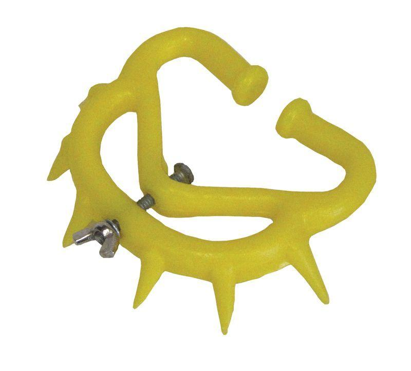Кольцо с шипами для отучения телёнка сосать вымя