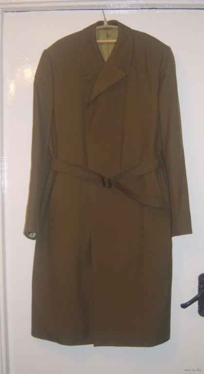 Плащ-пальто военное СССР новое 2eeb1b7dd6a2d