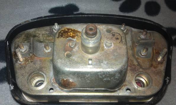 Панель приборов ЗАЗ 965.Горбатый.