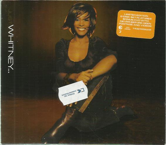 Whitney Houston Just Whitney CD+DVD Made In EU