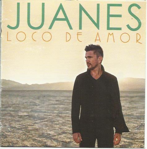 Juanes Loco de Amor буклет