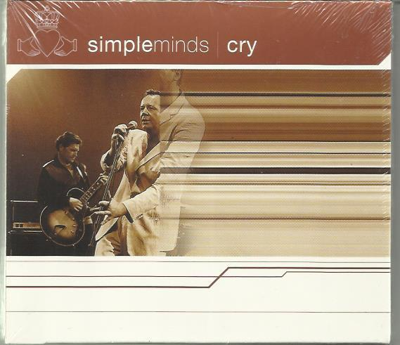 Simple Minds Cry дигипак запечатан