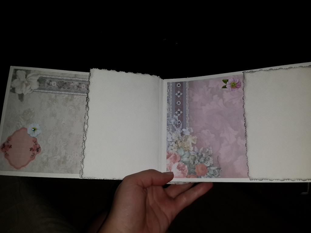 Альбом для фото в технике скрапбукинг