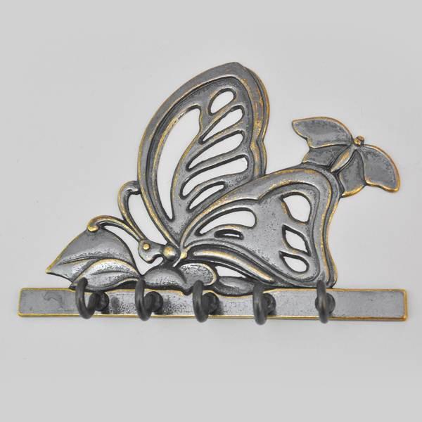 Ключница настенная Бабочка антик AL-80-301-ANT