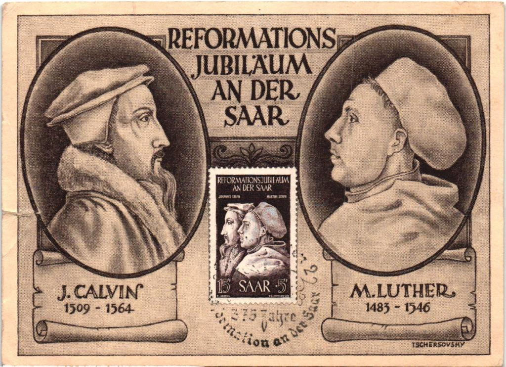 a comparison of martin luther and john calvin