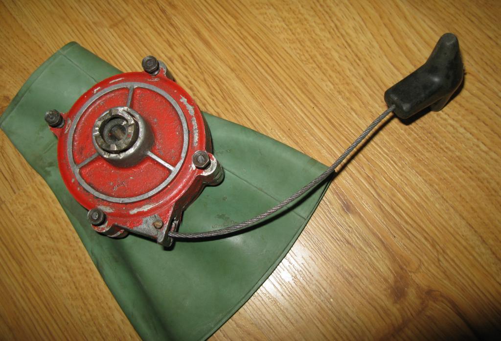 лодочный мотор рукоятка