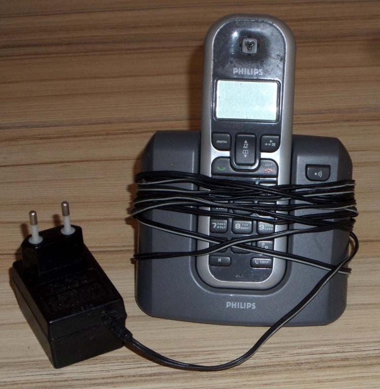 Philips DECT 1221S51 радиотелефон Т.