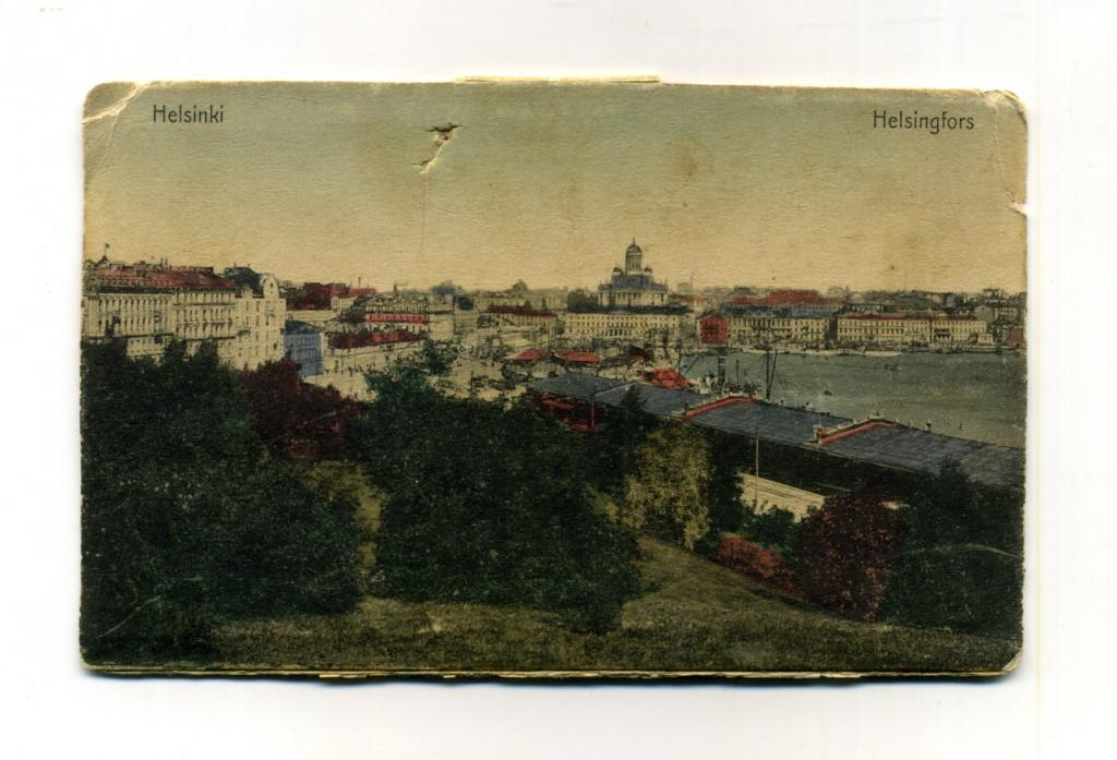 Открытка, старые открытки хельсинки