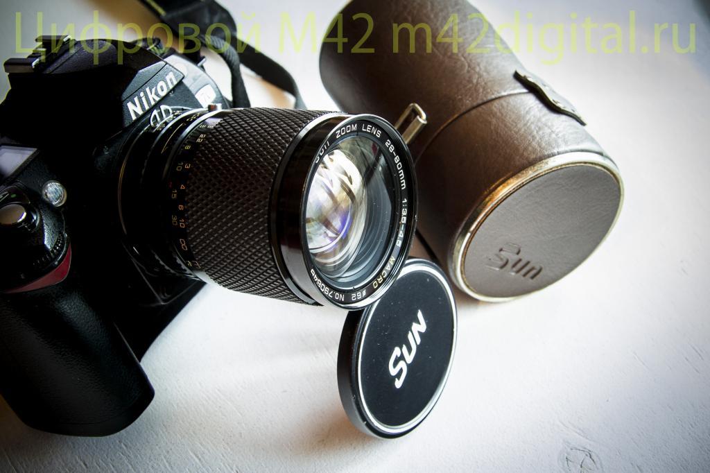 Sun Zoom Lens 28-80 F3.5-4.5 Macro №790648 объектив на каждый день для Nikon