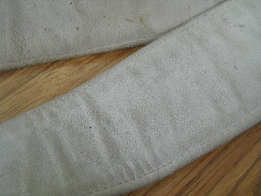 1 Ремень пояс сыромятная кожа 115 на 8 см