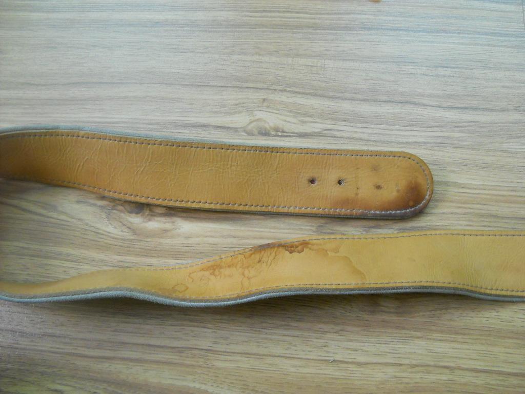 3 Ремень пояс сыромятная кожа 133 на 4,5 см