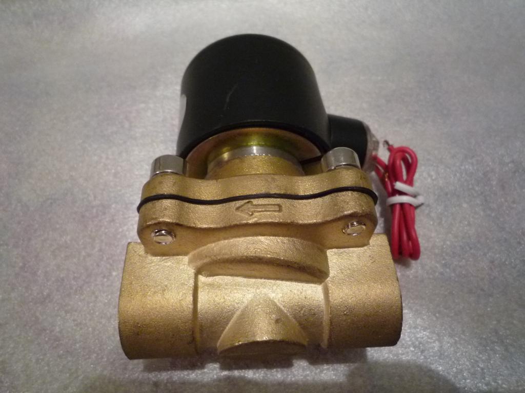 Клапан электромагнитный КГ-ЭЗ-100-220-Ф