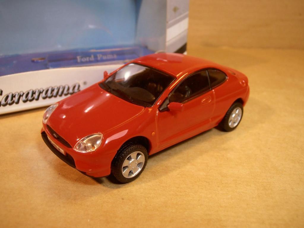 129b2652a91 Ford PUMA красный Hongwell Cararama 1:43 Форд ПУМА металл Карарама