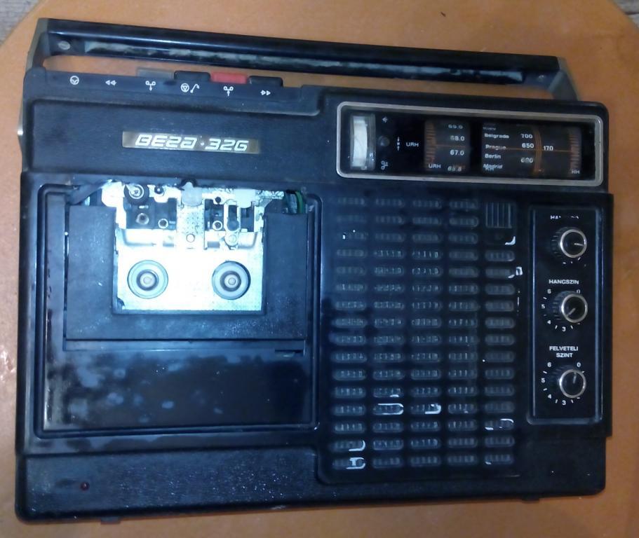 Кассетный магнитофон Вега-326. Магнитола.