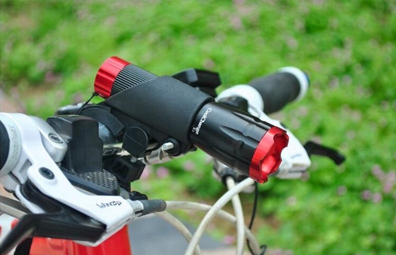 Держатель для фонаря велосипедный своими руками6