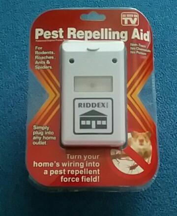 Ультразвуковой отпугиватель комар мошка мыши крысы Riddex доставка из России 7-14 дней