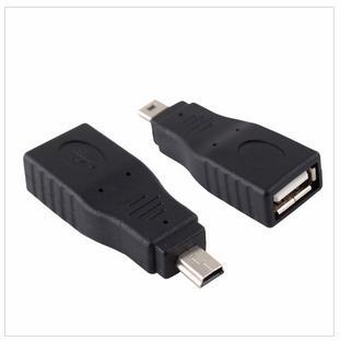 Adapter Converter USB to Mini USB.