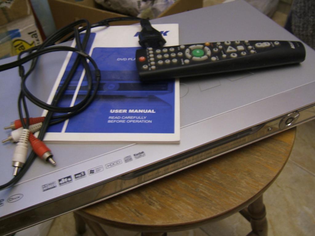 Видеоплеер DVD BBK DV725SI