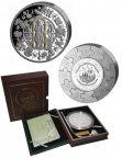 Монета 100 $, Либерия. Серебро. Апостол Павел. 2008 год
