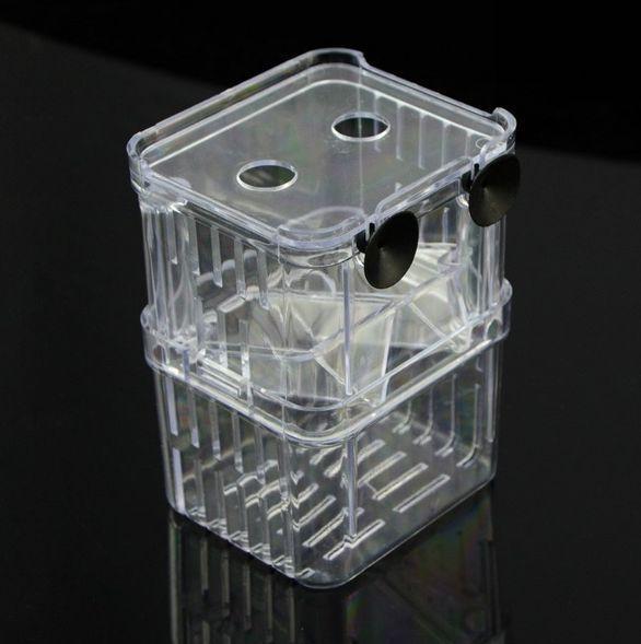 Аквариум - изолятор отсадник большой 10 Х 7 Х 13см