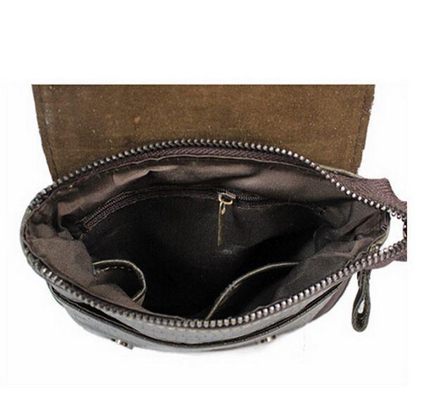 Мужская сумка на плечо PU кожа крокодил #2