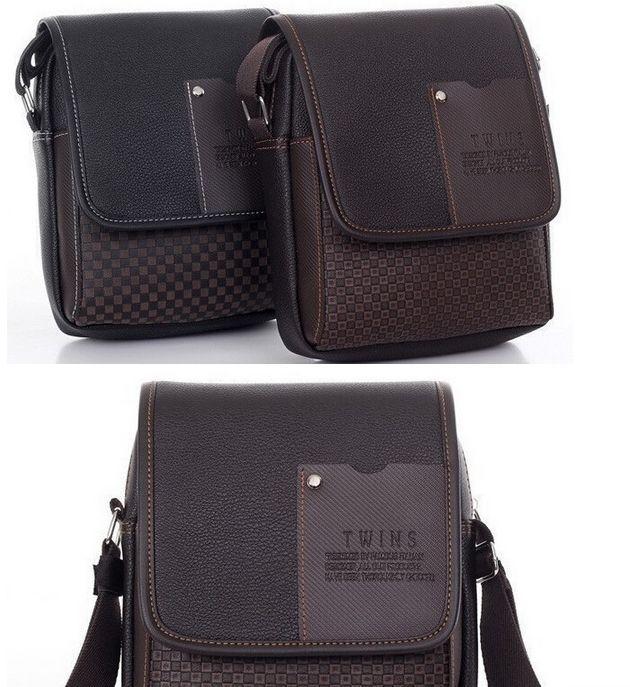 Мужская сумка на плечо TWINS  2 цвета