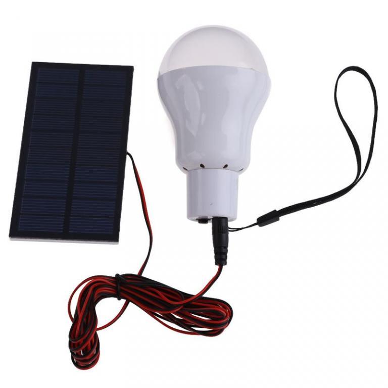 Как сделать светодиодный светильник на солнечной батарее