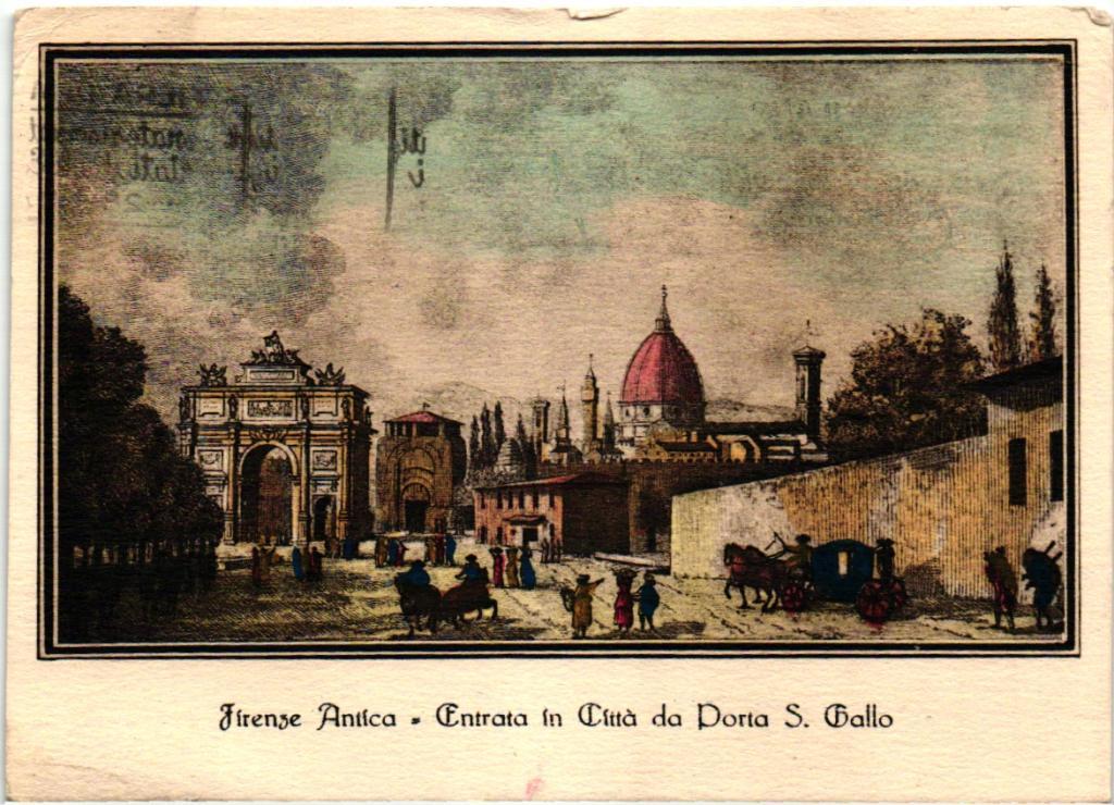 Старинные итальянские открытки, для