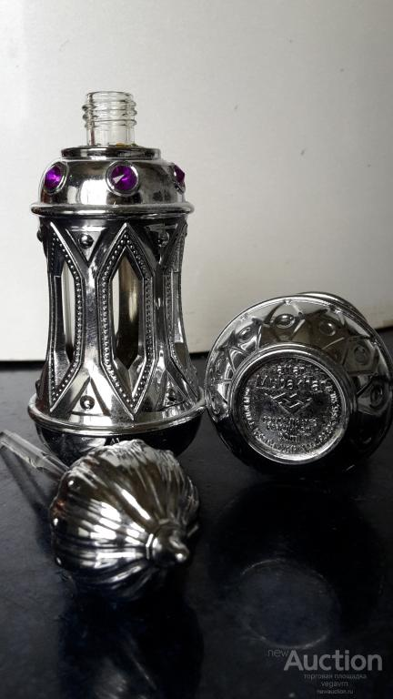 Флакон от масляных арабских духов с аппликатором стекло, пластик, стразы Attar Mubakhar/Мубакар 20мл