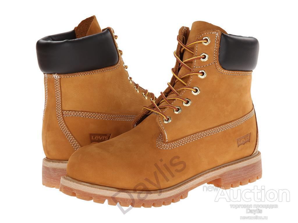 253b7139 Оригинальные ботинки Levis, разм. 8.5-9.5US(42-43)
