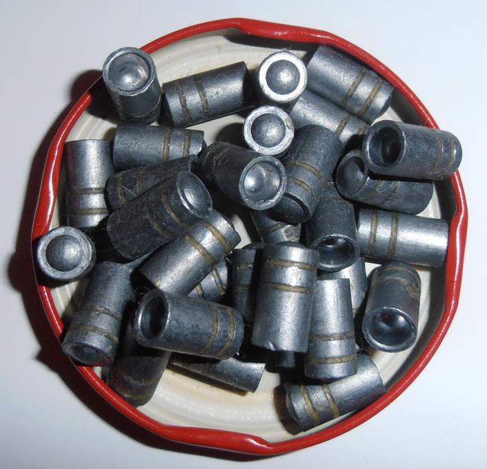 Пуля 32 Colt  WC HB .312 ( 7,96 мм ), 100 gr/ 6,5 грамм, пр-во H&N , Германия