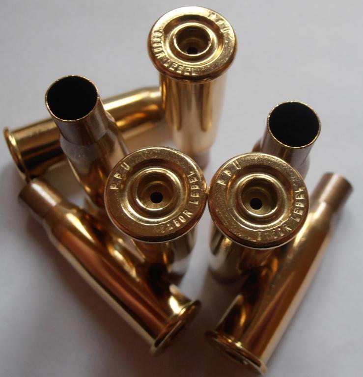 Гильза 8x50R Lebel, пр-во PPU, новая, латунь, под боксер, 50 штук