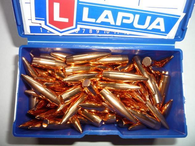 Пуля Lapua .30 GB491, 10.0g/155gr HPBT 100 штук