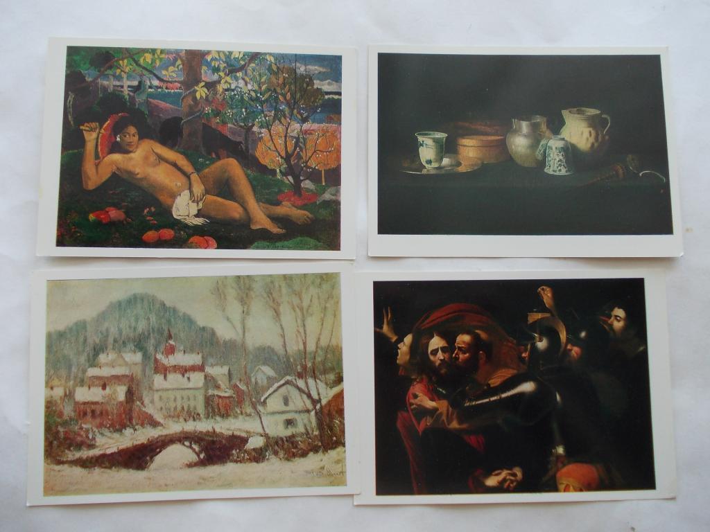 Набор открыток живопись 8