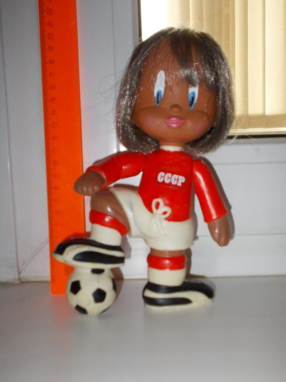 Кукла футболист Югославия (СФРЮ) Заря СССР