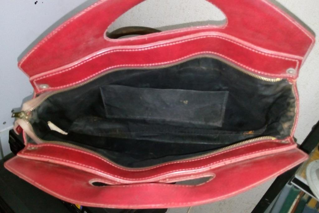 Старая Женская сумка Красная. Винтаж. Красивая. Модная.