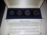 Шпицберген набор 1993 в подарочной коробке Норвегия Сертификат
