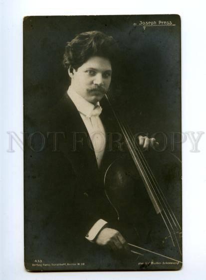 139372 Иосиф ПРЕСС Музыкант виолончель Фото