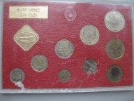 Набор монет Банка СССР 1974 года АЦ ЛМД Официальный Редкий