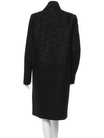 Just Cavalli Wool Jacquard пальто шерсть оригинал