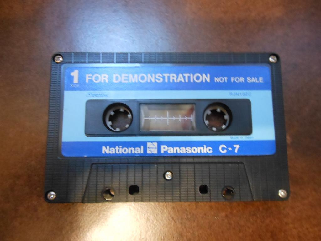 Кассета Panasonic Demo C - 7