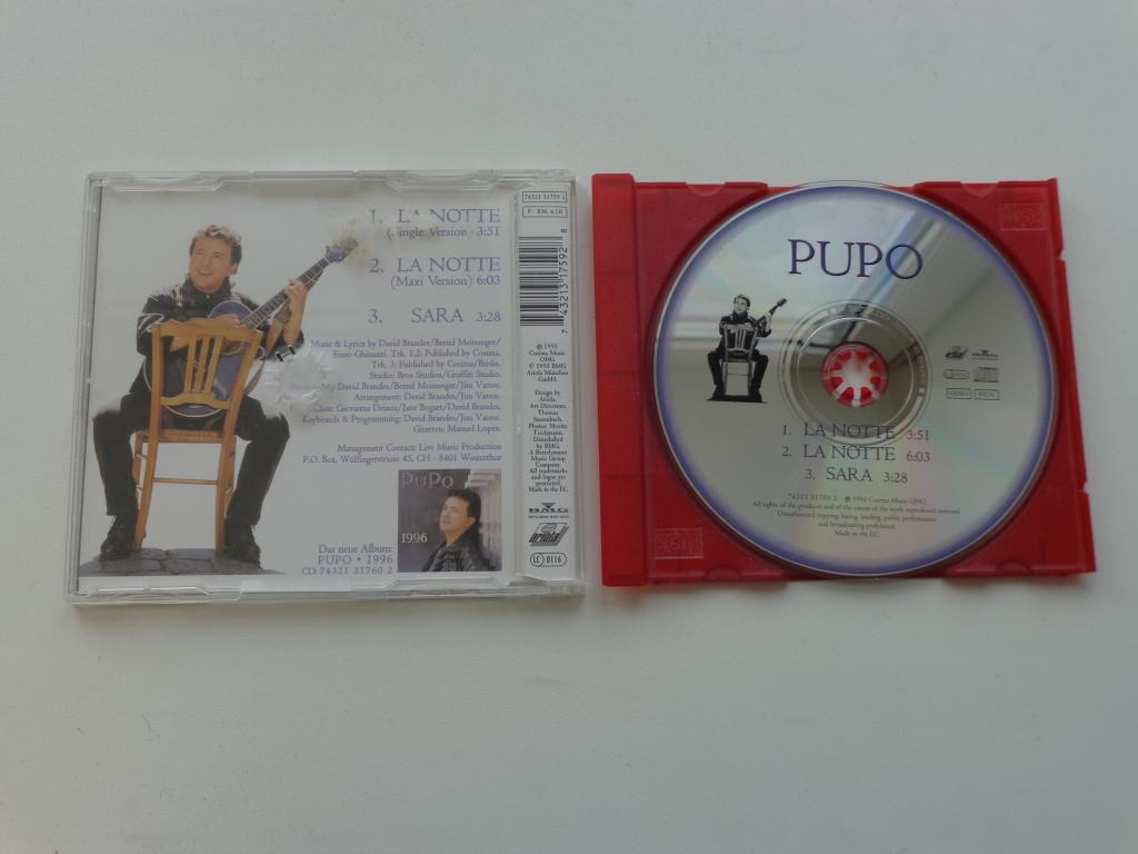 MCD Pupo - La Notte 1995