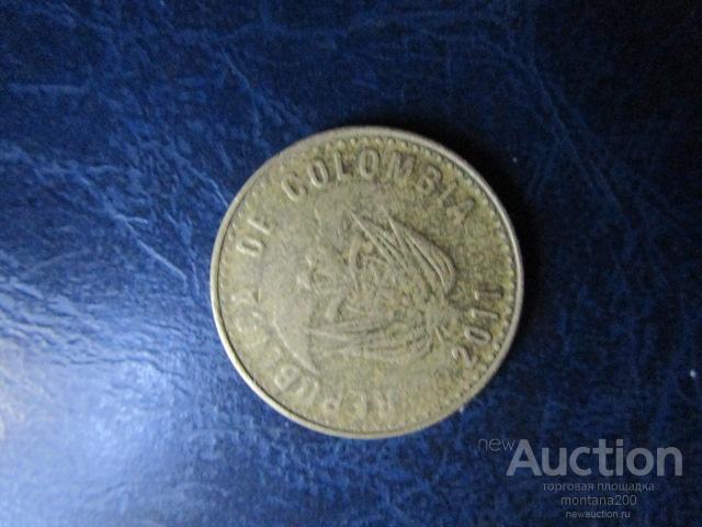 колумбия 100 песо 2011