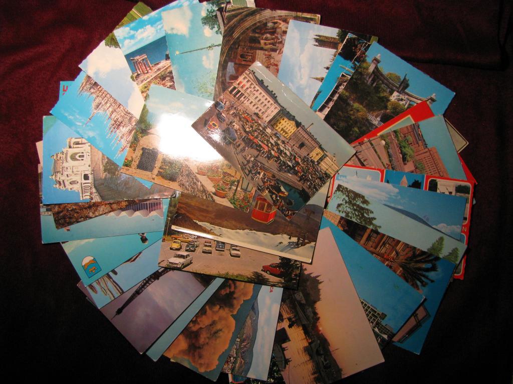 Почтовые открытки европа