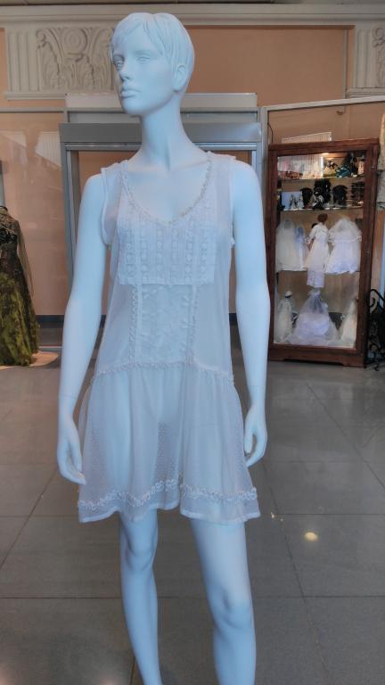 Красивое платье 80-х годов, стиль 20-х.
